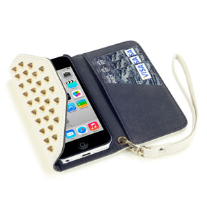 Rock Chic iPhone 5C Case - White