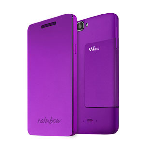 Official Wiko Rainbow Folio Case with Stand