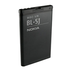 Official Nokia BL-5J Replacement Battery