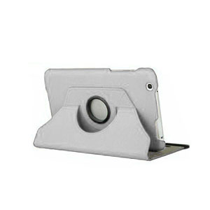 Rotating LG G Pad 8.3 Stand Case - White
