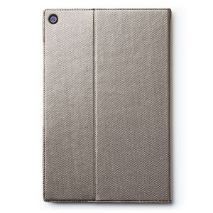 Zenus Sony Xperia Z2 Tablet Metallic Diary Stand Case - Silver