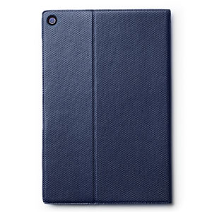 Zenus Sony Xperia Z2 Tablet Metallic Diary Stand Case - Navy