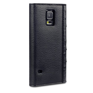 Covert Suki Galaxy S5 Leather-Style Purse Case - Black
