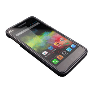 Flexishield Wiko Rainbow Case - Smoke Black