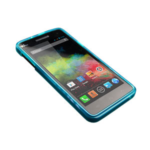 Flexishield Wiko Rainbow Case - Blue