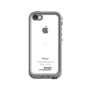 LifeProof Nuud iPhone 5C Case - White / Grey