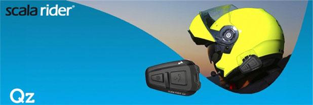 Cardo Scala Rider Qz Motorcycle Bluetooth Hands-free Kit