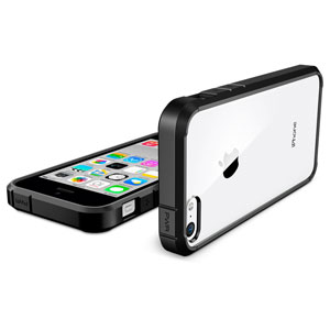 Spigen SGP Ultra Hybrid iPhone 5C Case - Black