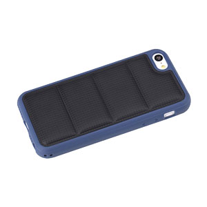 ROCK Pillow iPhone 5C Protective Case - Black / Blue