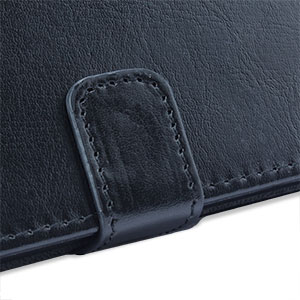 Leather Style Wallet Stand Case for Google Nexus 5 - Black