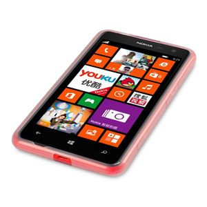 FlexiShield Nokia Lumia 625 Gel Case - Clear