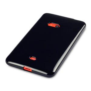 FlexiShield Nokia Lumia 625 Gel Case - Black