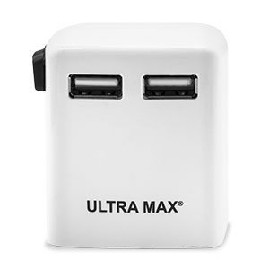 Ultra Max Dual USB World Travel Power Adapter