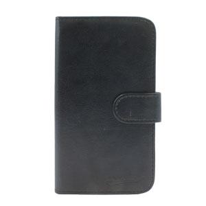 Adarga Stand and Type Wiko Rainbow Folio Case - Black