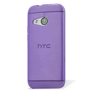 FlexiShield HTC One Mini 2 Gel Case - Purple