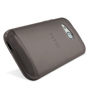 FlexiShield HTC One Mini 2 Gel Case - Smoke Black