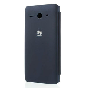 Official Huawei Ascend Y530 Flip Case - Dark Blue