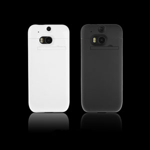 Power Jacket Case 3200mAh for HTC One M8 - Black