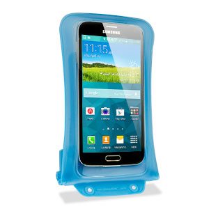 DiCAPac Universal Waterproof Case for Smartphones up to 5. inch - Blue