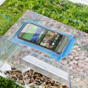 DiCAPac Universal Waterproof Case for Smartphones up to 5.7 inch - Blue