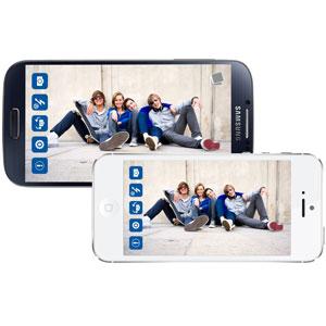 Télécommande Caméra ShutterBall avec Support - Verte