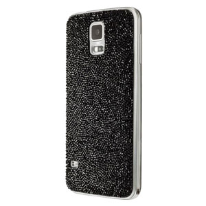 Official Samsung Galaxy S5 Swarovski Studded Back Cover - Black
