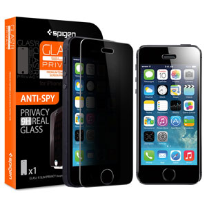 Spigen iPhone 5S / 5C / 5 GLAS.tR SLIM Privacy Screen Protector