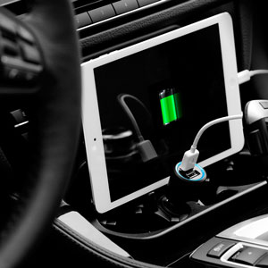 Spigen Kuel P12Q/C Dual 4A USB Car Charger