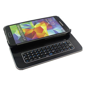 new styles 86f20 793be Galaxy S5 Magnetic Bluetooth QWERTY keyboard Case - Black