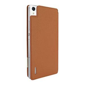 Piel Frama FramaSlim Huawei Ascend P7 Case - Tan