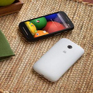 SIM Free 4GB Motorola Moto E - White