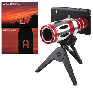 Samsung Galaxy S5 Long Range Telescope Photo Lens Case