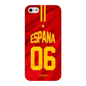 World Cup iPhone 5S / 5 Football Shirt Case - Spain