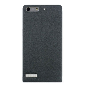 Pudini Huawei Ascend G6 Clear Window Flip and Stand Case - Grey