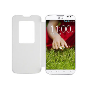 LG L90 QuickWindow Case - White
