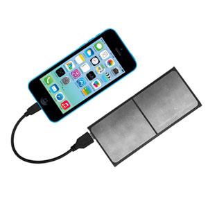 Coque Batterie et Chargeur Sans Fil 3-en-1 – Blanche