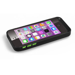 3 in 1 Wireless Power Bank for iPhone 5C - Black