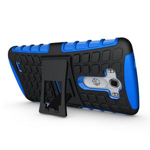 ArmourDillo Hybrid LG G3 Protective Case - Blue