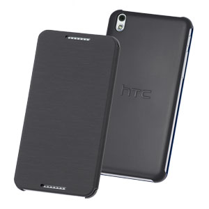 Official HTC Desire 610 Flip Case Grey