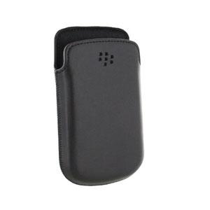 BlackBerry 9720 Leather Pocket - Black