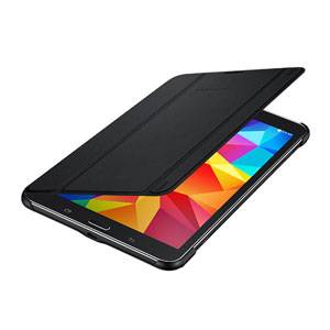 Official Samsung Galaxy Tab 4 8.0 Book Cover - Black