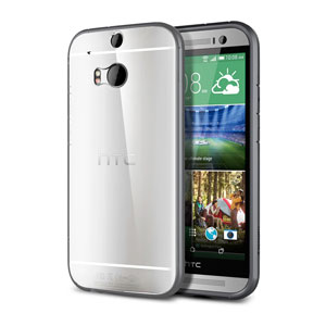 Spigen Ultra HTC One M8 Case - Silver