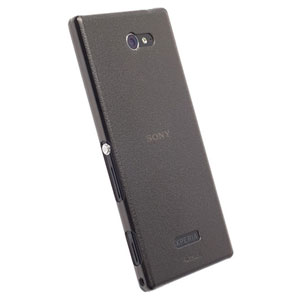 Krusell FrostCover Case for Sony Xperia M2 - Transparent Black
