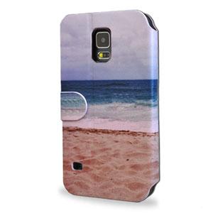 Create And Case Samsung Galaxy S5 Book Case - Let's Run Away