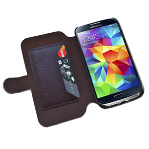 Create And Case Samsung Galaxy S5 Book Case - Let's Run Away