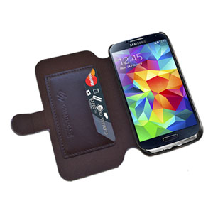 Create And Case Samsung Galaxy S5 Book Case - Leo Sunny