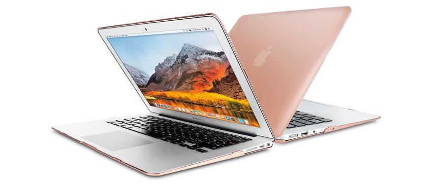 Olixar Toughguard MacBook Air 13 inch Hard Case - Champagne Gold