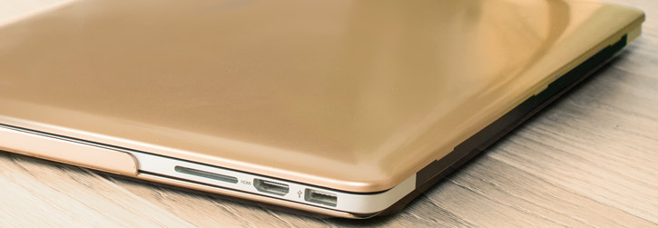 Toughguard MacBook Pro 15 With Retina Hard Case - Champagne Gold