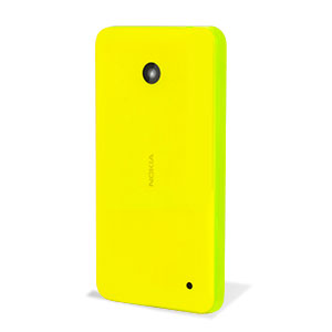 online store d4211 e8fb9 Official Nokia Lumia 630 / 635 Shell - Yellow