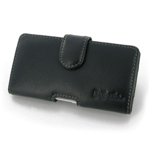 PDair EE Kestrel Horizontal Leather Pouch Case - Black